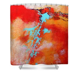 Skyward 2 Shower Curtain by M Diane Bonaparte