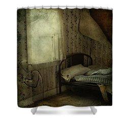 Sleepless Prayers  Shower Curtain by Jerry Cordeiro