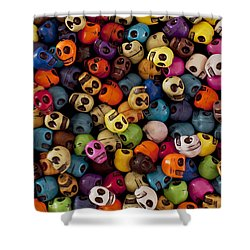 Smiles Shower Curtain by Mike Herdering