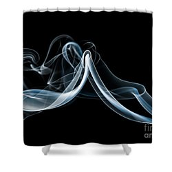 Smoke-1 Shower Curtain