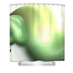 Snail Shower Curtain by Kim Sy Ok