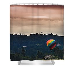 Snohomish Baloon Ride Shower Curtain