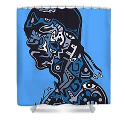 Snoop Dogg Shower Curtain by Kamoni Khem