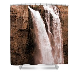 Snoqualmie Falls Shower Curtain