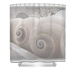 Snow Babies Shower Curtain