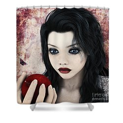 Snow White Shower Curtain by Jutta Maria Pusl