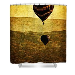 Soaring Heights Shower Curtain by Andrew Paranavitana