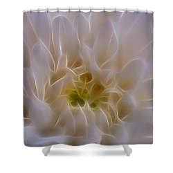 Soft Light Shower Curtain by Ivelina G
