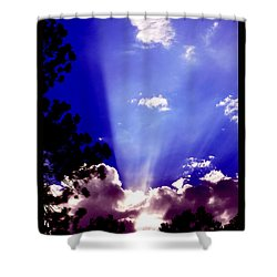 Shower Curtain featuring the photograph Solar Devas by Susanne Still