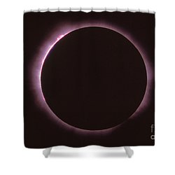 Solar Prominence And Chromosphere Shower Curtain by Science Source