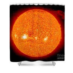 Solar Prominence Shower Curtain by Nasa