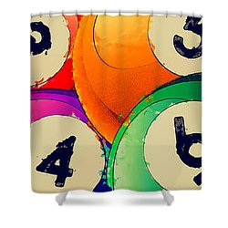Solids Shower Curtain by David G Paul
