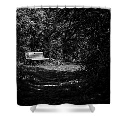 Solitude Shower Curtain by CJ Schmit