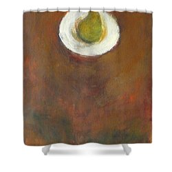 Shower Curtain featuring the painting Solo by Kathleen Grace