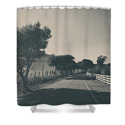 Somethin' About You And I Shower Curtain by Laurie Search