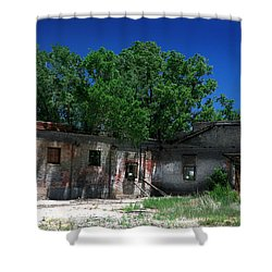 Shower Curtain featuring the photograph Somewhere On Hwy 285 Number Three by Lon Casler Bixby