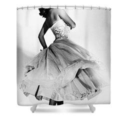 Sophia Loren (1934-  ) Shower Curtain by Granger