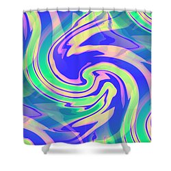 Sorbet Dreams Shower Curtain by Shana Rowe Jackson