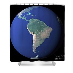 South America Shower Curtain by Stocktrek Images