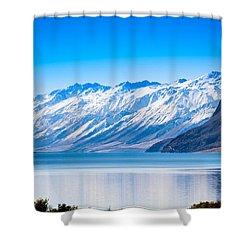 South Island Lake Wanaka New Zealand Shower Curtain by John White