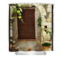 South Of France Shower Curtain by Mauro Celotti