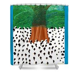 Souvenance Shower Curtain