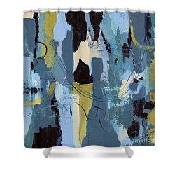 Spa Abstract 1 Shower Curtain by Debbie DeWitt