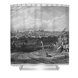 Spain: Madrid, 1833 Shower Curtain by Granger