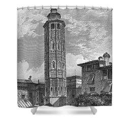 Spain: Saragossa, 1833 Shower Curtain by Granger