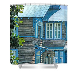 Spanish Town Blues  Shower Curtain