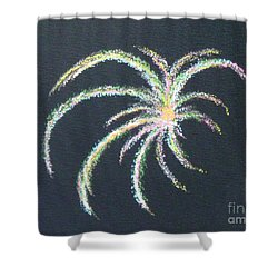 Sparkler Shower Curtain by Alys Caviness-Gober