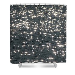 Shining Water Shower Curtain