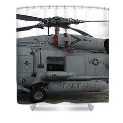 Spartans Shower Curtain
