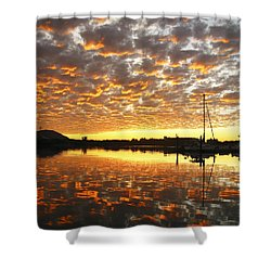 Spectacular Mazatlan Sunset Shower Curtain by Anne Mott