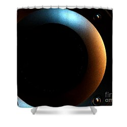 Shower Curtain featuring the photograph Sphere by Newel Hunter