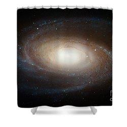 Spiral Galaxy M81 Shower Curtain by Nasa