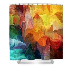 Spirit Journey Shower Curtain by David Lane