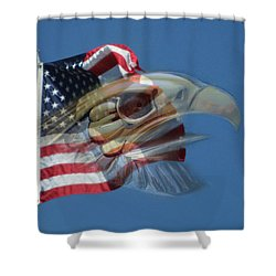 Spirit Of The Screaming Eagles Shower Curtain by Kevin Caudill