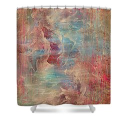 Spirit Of The Waters Shower Curtain by Rachel Christine Nowicki