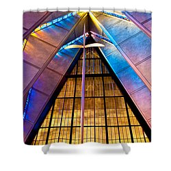 Spiritual Peace Shower Curtain by Colleen Coccia