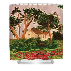 Spooner's Cove Shower Curtain