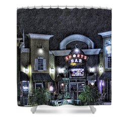 Sports Bar Shower Curtain