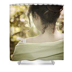 Spring Beauty Shower Curtain by Margie Hurwich