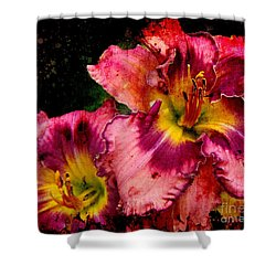 Shower Curtain featuring the photograph Spring Blooms by Davandra Cribbie