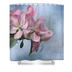 Spring Blossoms For The Cure Shower Curtain