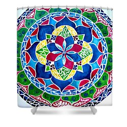 Spring Mandala Shower Curtain