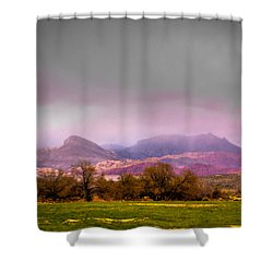 Spring Mountain Ranch In Red Rock Canyon Shower Curtain by David Patterson