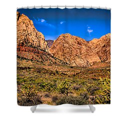 Spring Mountain Ranch In Red Rock Canyon II Shower Curtain by David Patterson