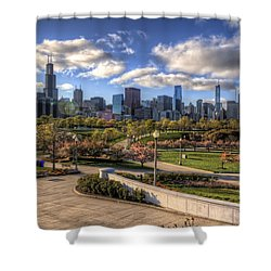 Spring Time Is Here Shower Curtain