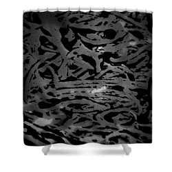 Squirm For The Norm  Shower Curtain by Jerry Cordeiro